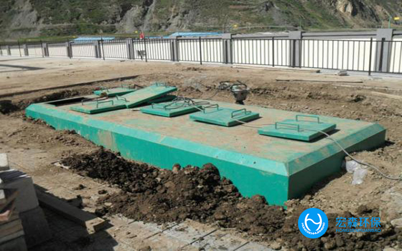 自动化地埋式污水处理设备